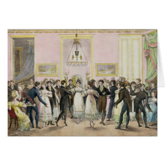 A Society Ball, engraved by Charles Etienne Card