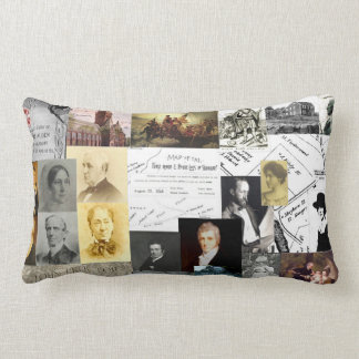 A Soft History Lesson Lumbar Pillow
