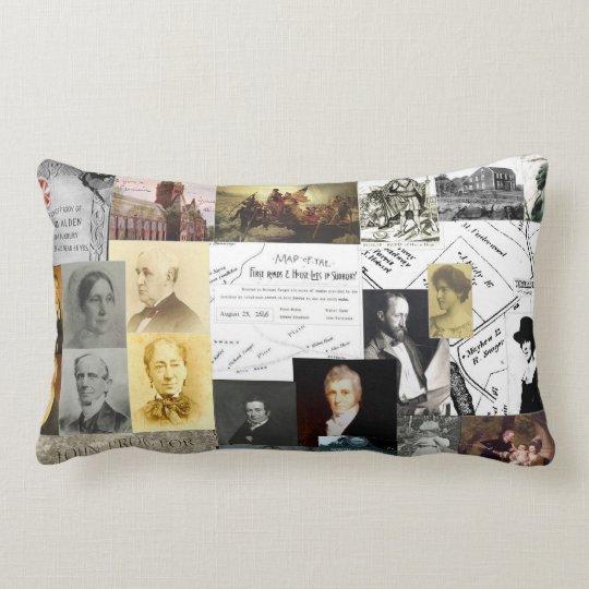A Soft History Lesson Lumbar Pillow