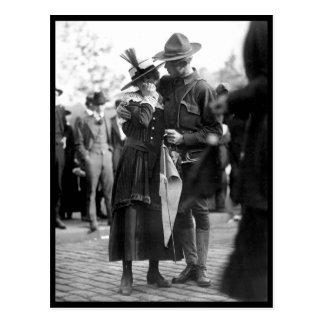 A soldier boy of the 71st Regiment_War Image Postcard
