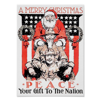 A Soldier's Christmas Gift Poster
