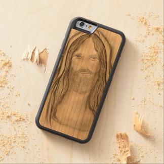 A Solemn Jesus Cherry iPhone 6 Bumper