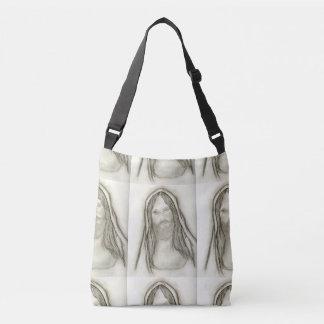 A Solemn Jesus Crossbody Bag