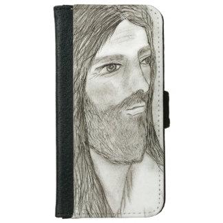 A Solemn Jesus II iPhone 6 Wallet Case