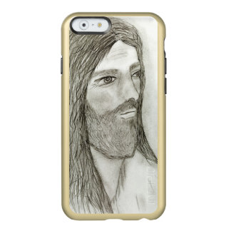 A Solemn Jesus Incipio Feather® Shine iPhone 6 Case
