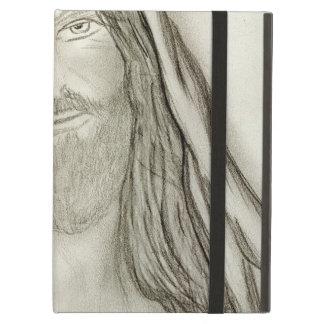 A Solemn Jesus iPad Air Case