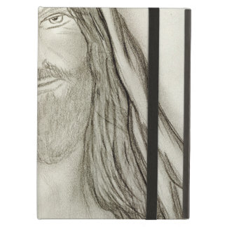 A Solemn Jesus iPad Air Covers