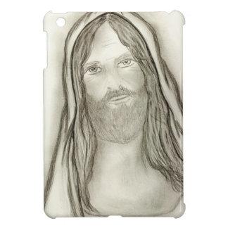 A Solemn Jesus iPad Mini Cases