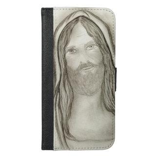 A Solemn Jesus iPhone 6/6s Plus Wallet Case