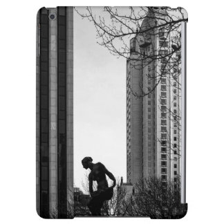 A Solitary Moment in the City iPad Air Cover