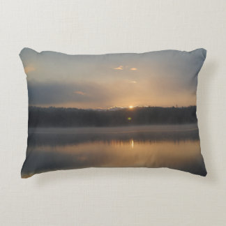 A soothing Maine sunrise Decorative Pillow