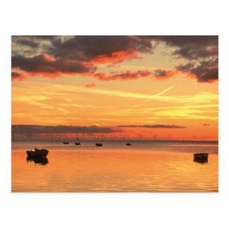 A Southern Swedish Sunset Postcard