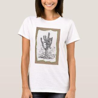 A Southwestern Sonoran Saguaro Cactus Shirt