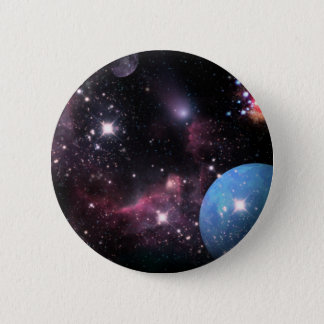 A Space Odyssey 2 Inch Round Button