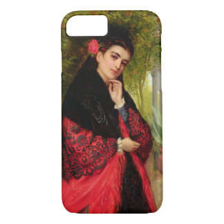 A Spanish Beauty, 1872 (oil on canvas) iPhone 7 Case