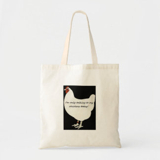 A special chicken tote bag
