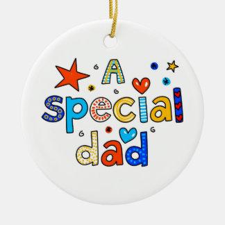 A Special Dad Ceramic Ornament