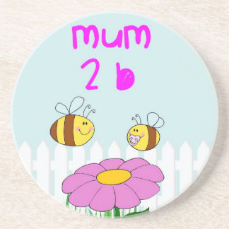 A special gift for a mum to be coaster