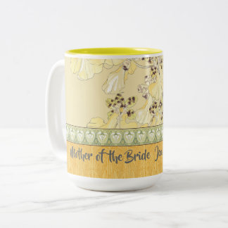 A Special Thank You for Your Wedding Party Two-Tone Coffee Mug