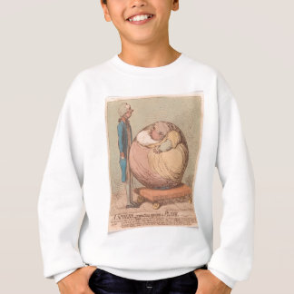 A Sphere, Projecting Against a Plane Sweatshirt