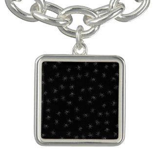 A Spiders flock (pattern) cartoon Bracelet