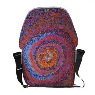 A spiral vortex - Abstract bag Commuter Bag
