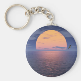 A Spiritual Place -Blue Sunset Keychain