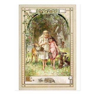 A Spiritual Place -Fairytales -Snow White Postcard