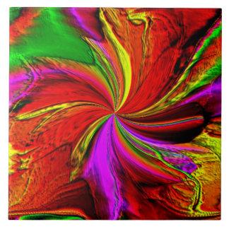 A Splash of Color Tile