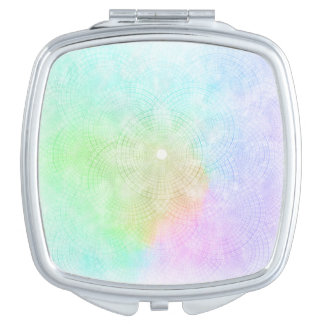 A Splash of Pastel Compact Mirror