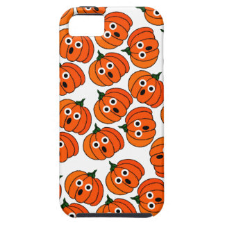 A Spooked Pumpkin (Add Background Color) iPhone 5 Cover
