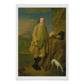 A Sportsman 1752 oil on canvas Poster