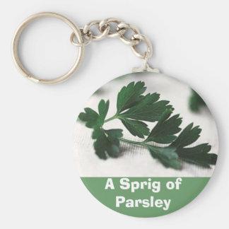 A Sprig of Parsley Keychain
