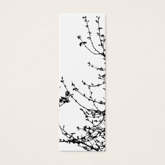A spring affair bookmark mini business card