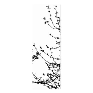A spring affair bookmark pack of skinny business cards