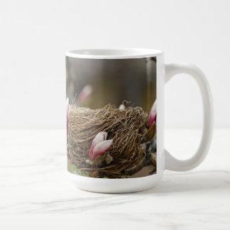 A Spring Nest Classic White Coffee Mug