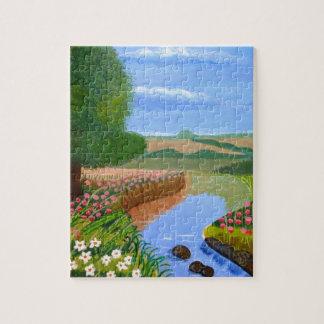 A Spring Stream Jigsaw Puzzle