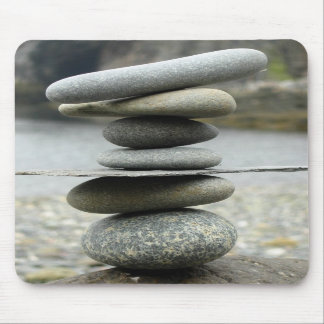 A Stack of Rocks Mouse Pad