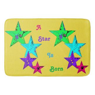 A Star Is Born! Bath Mat