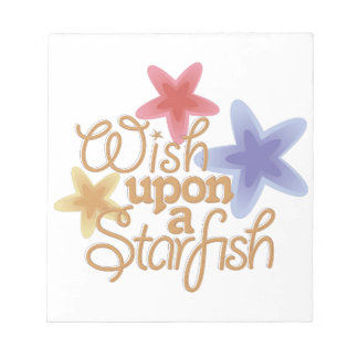A Starfish Notepad