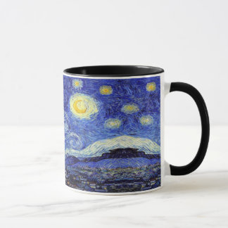 A Starry Night Vincent Van Gogh Inspiration Mug