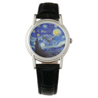A Starry Night Watches Van Gogh