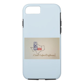 A State of Texas image on a iphone case. Case-Mate iPhone Case