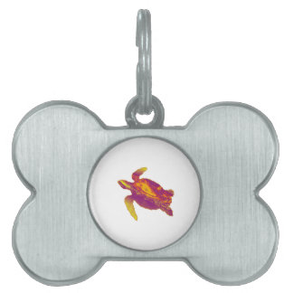 A STELLAR ONE PET ID TAG