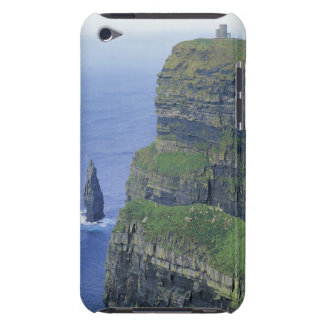 a stone castle standing on top a steep cliff in iPod touch cases