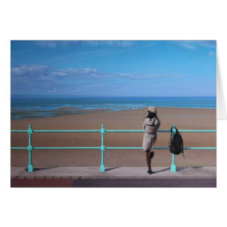 A Stop on the Way. Fine Art Greetings Card