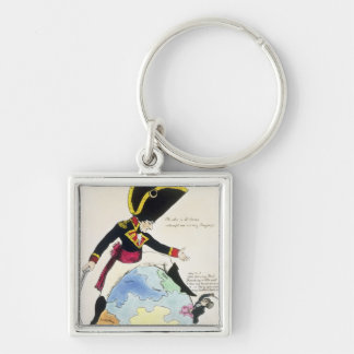 A Stoppage to a Stride over the Globe, 1803 Keychains
