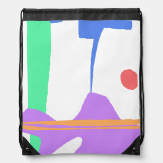 A Stork - You Are Not Alone Drawstring Bag