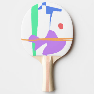 A Stork - You Are Not Alone Ping Pong Paddle