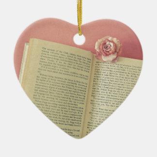 A Story Ceramic Heart Ornament